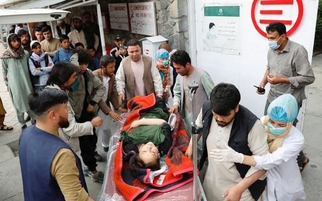 Car bombing at Afghan school kills 55, injures over 150