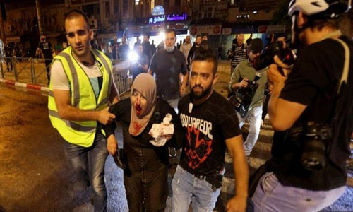 Many hurt in Jerusalem clash between Israeli police and Palestinians