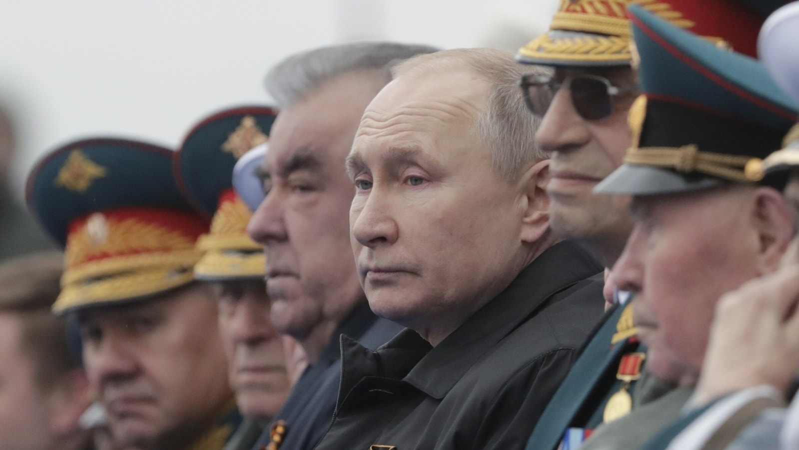 Putin on WWII Victory Day says will 'firmly' defend Russian interests