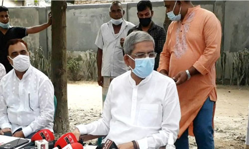 Mirza Fakhrul demands Health Minister's resignation