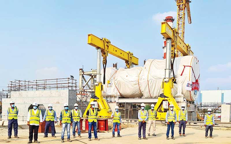 Summit Meghnaghat-II brings heavy-duty gas turbine