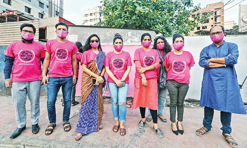 Campaign on Menstrual Hygiene Day