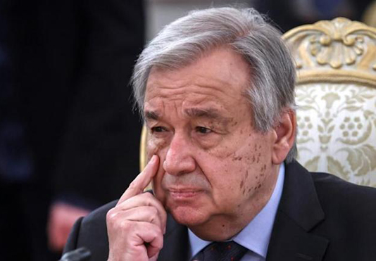 Guterres tapped for 2nd term as UN chief