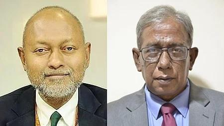 Prof Dr Nazmul Ahsan Kalimullah and Prof Dr Md Hasibur Rahman