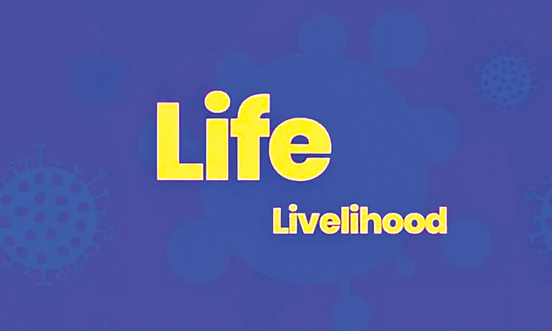 Is there any choice between lives and livelihoods?