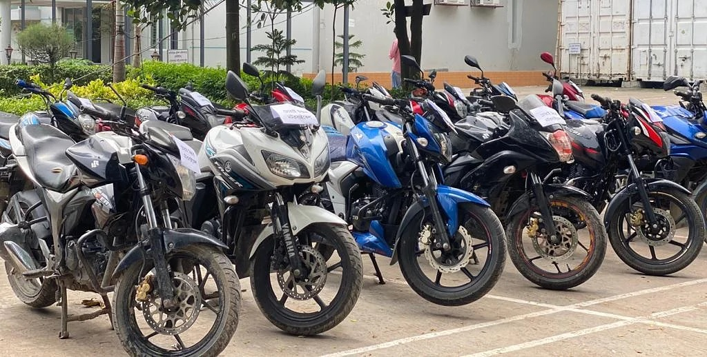 8 motorcycle lifters arrested from Dhaka, Cumilla