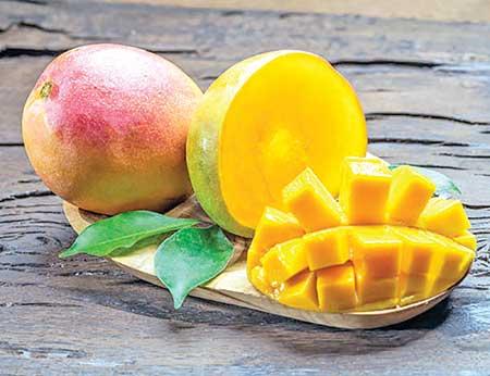 Mango for healthy skin