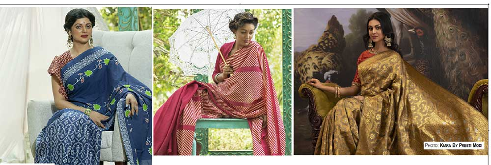 Sarees for eventual comfort in monsoon