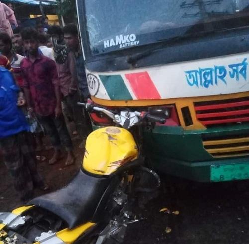 Two bikers killed as bus rams in Gazipur