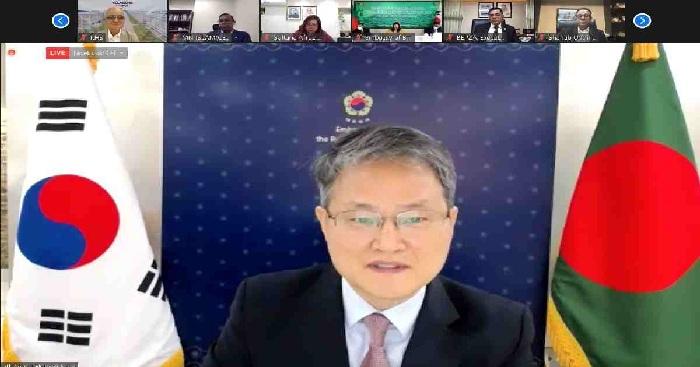 Korean envoy seeks jabs for all foreign investors in Bangladesh