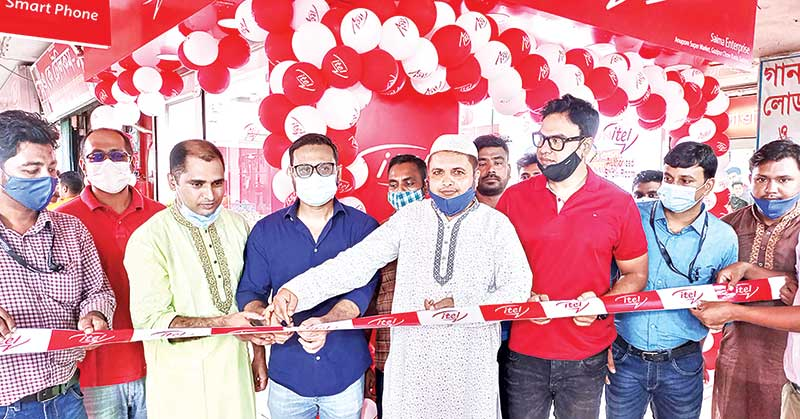 itel mobile launches two outlets in Bangladesh