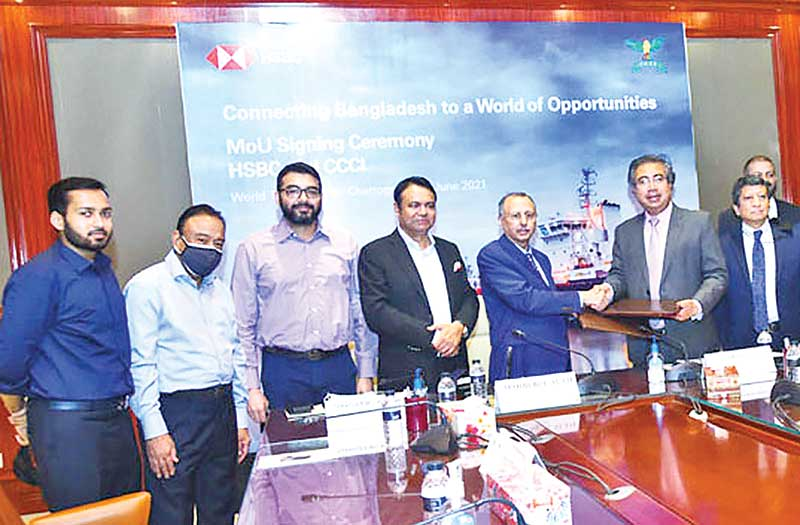 Signing memorandum of understanding of CCC