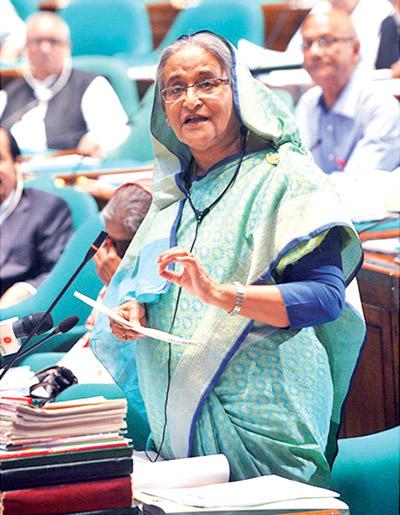 Int'l vaccine institute to be set up in BD: Hasina