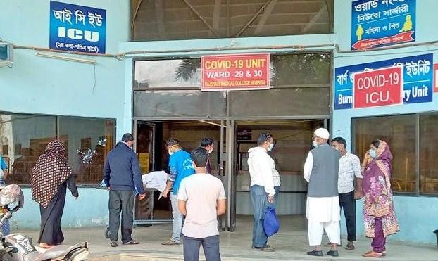 70 await for a ICU bed at Rajshahi Medical