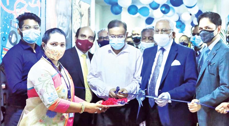 Information Minister Dr Hasan Mahmud inaugurating Digital Media Lab