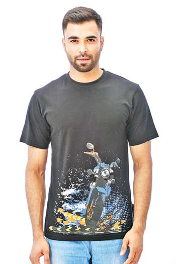Comfortable t-shirt in summer