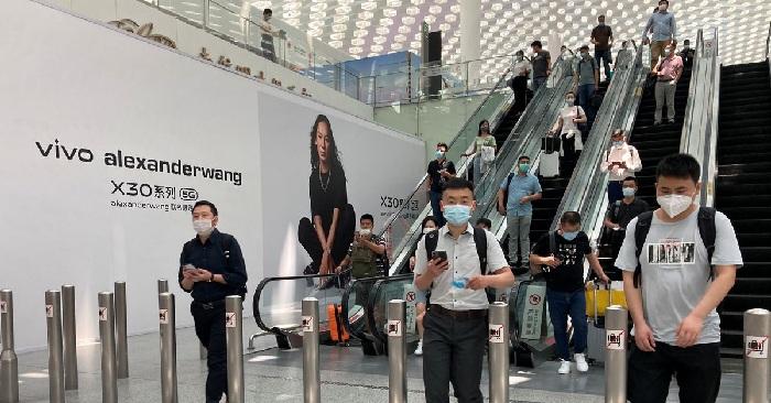 Shenzhen airport on heightened virus alert