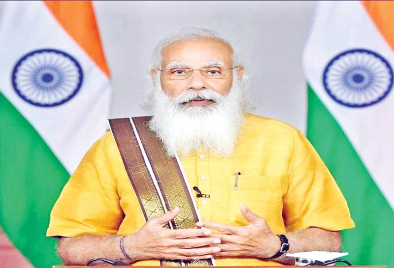 Modi hails Hasina for observing Int'l Yoga Day