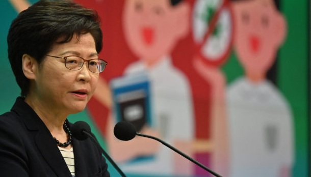 Hong Kong leader Carrie Lam says press must not 'subvert' government