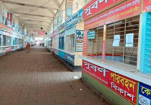Counters closed at Gabtoli terminal