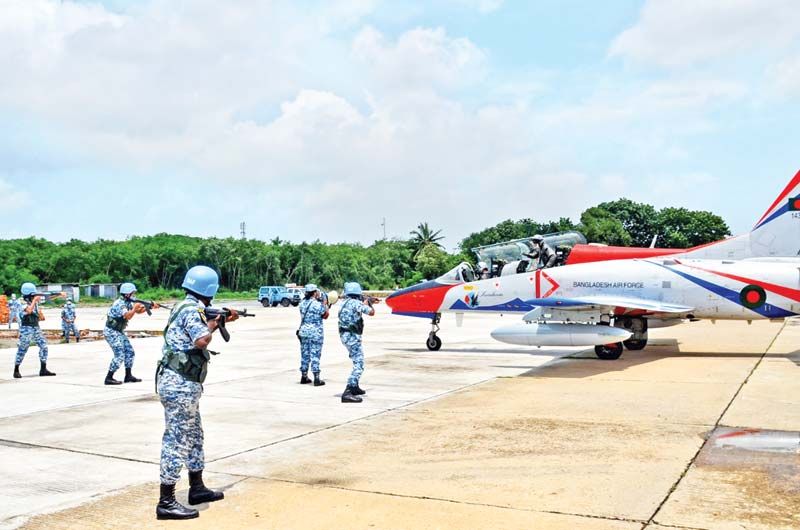 An Air Defence Exercise ADEX 2021-1 of Bangladesh Air Force