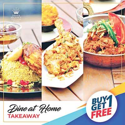Dine taste with Dhaka Regency's offer