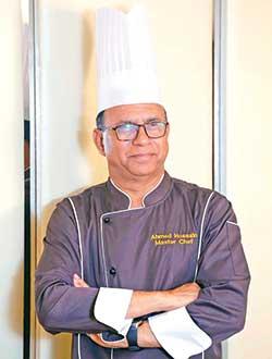 Chef ATM Ahmed Hossain Director, Food & Beverage  Dhaka Regency Hotel & Resort