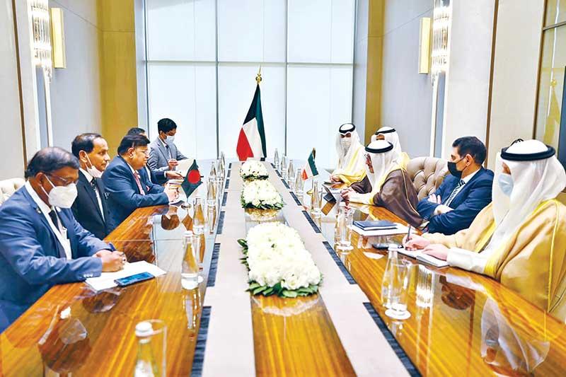 Bangladesh seeks to boost economic ties with Kuwait
