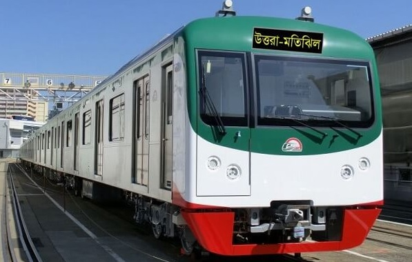 Metro Rail's 10 more compartments arrive at Mongla Port