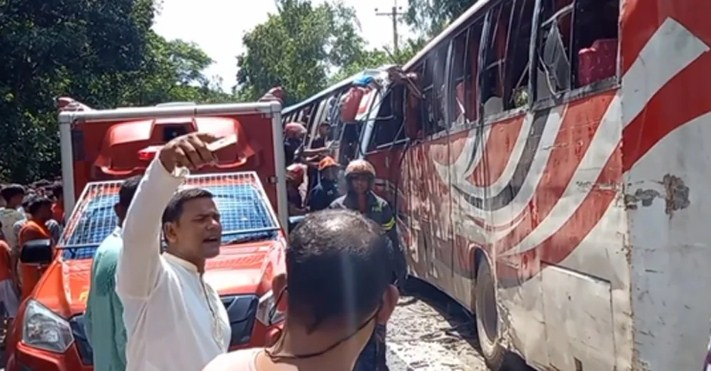 Four killed in Rangpur road accident