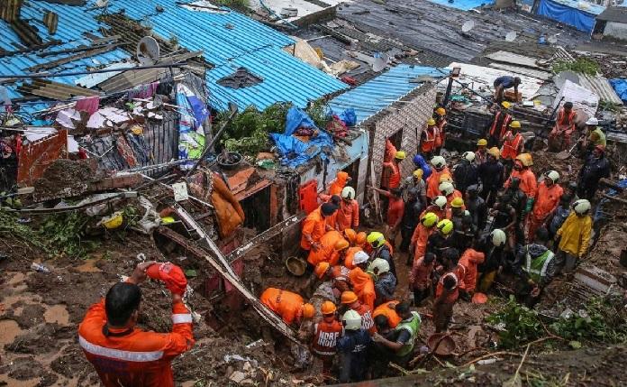 36 dead in India's rain-hit Maharashtra landslides