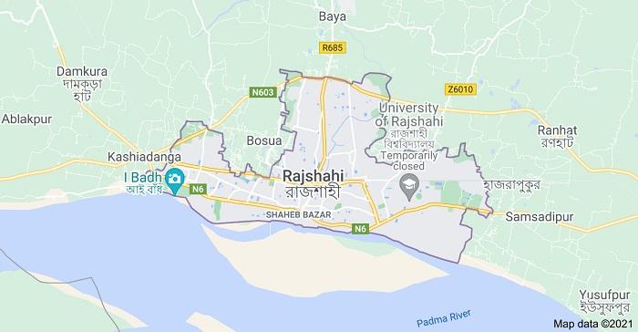 Rajshahi city map