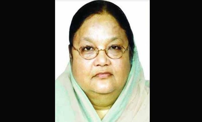 Former State Minister Jahanara Begum dies