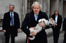 UK PM Johnson worried about his dog's 'romantic urges'