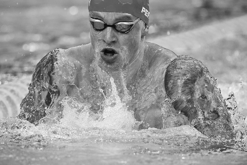 Britain's Adam Peaty competes in the final of the mixed 4x100m medley relay swimming event during the Tokyo 2020 Olympic Games at the Tokyo Aquatics Centre in Tokyo on July 31, 2021.photo: AFP
