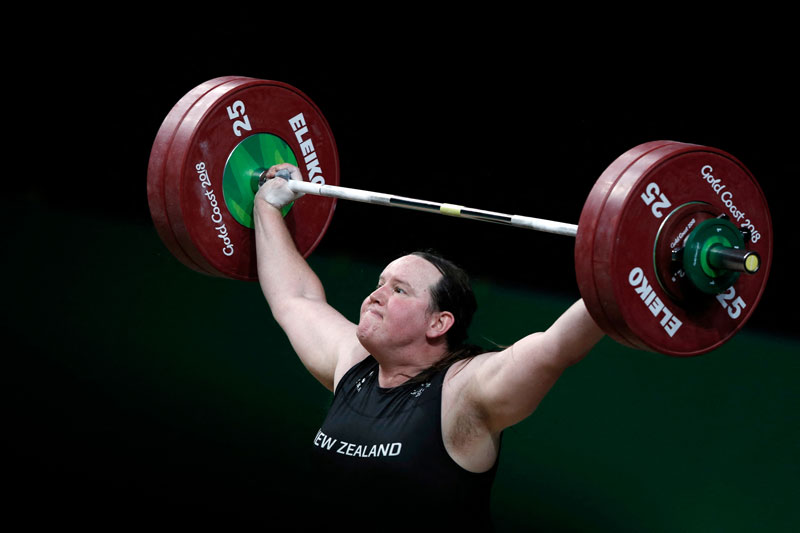 Transgender weightlifter Laurel Hubbard makes her Olympic debut in Tokyo on August 1, 2021, with the New Zealander's historic appearance igniting heated debate on one of sport's most divisive issues.photo: AFP