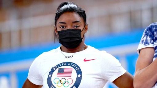 Biles on start list for Olympics beam final