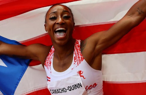 Camacho-Quinn delivers historic Olympic gold for Puerto Rico