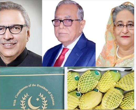 Pakistan sends mangoes to Bangladesh President, PM