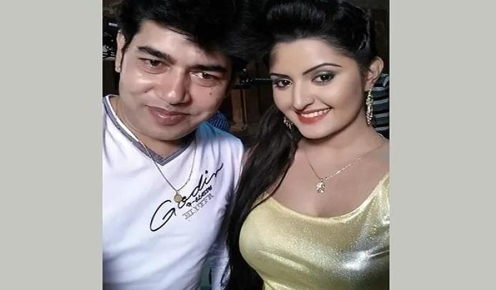 Raj Multimedia proprietor Nazrul Islam Raj and actress Pori Moni