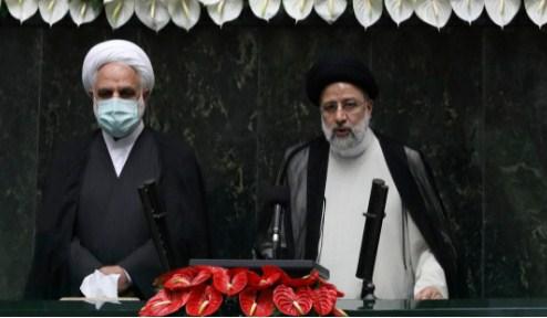 Raisi sworn in at parliament as Iran's president