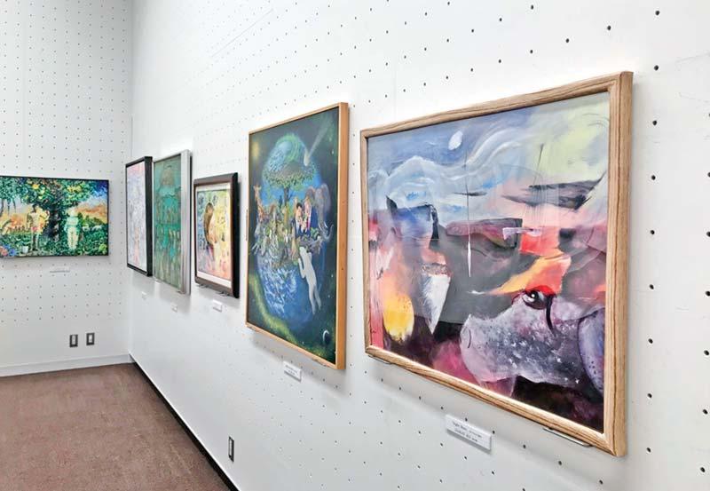 Ali Liakat's show at Tokyo Metropolitan Art Museum
