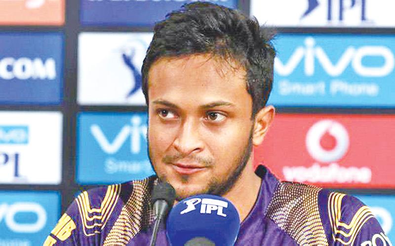 Shakib in UAE to play IPL, Mustafiz possible today