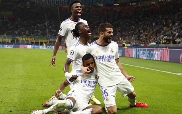 Rodrygo earns Real Madrid win at Inter