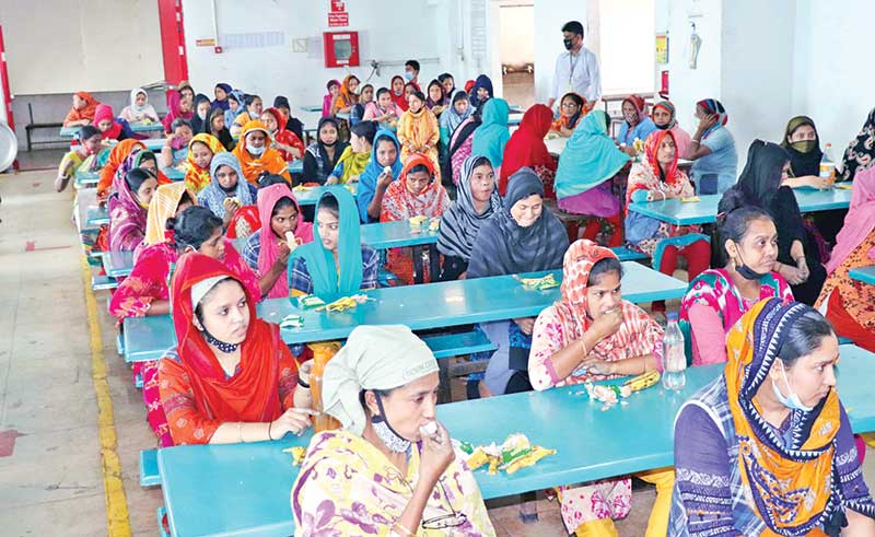 Nutrition key to boosting capacity of female RMG workers