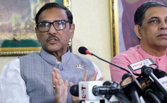 BNP hatching conspiracy over EC: Quader