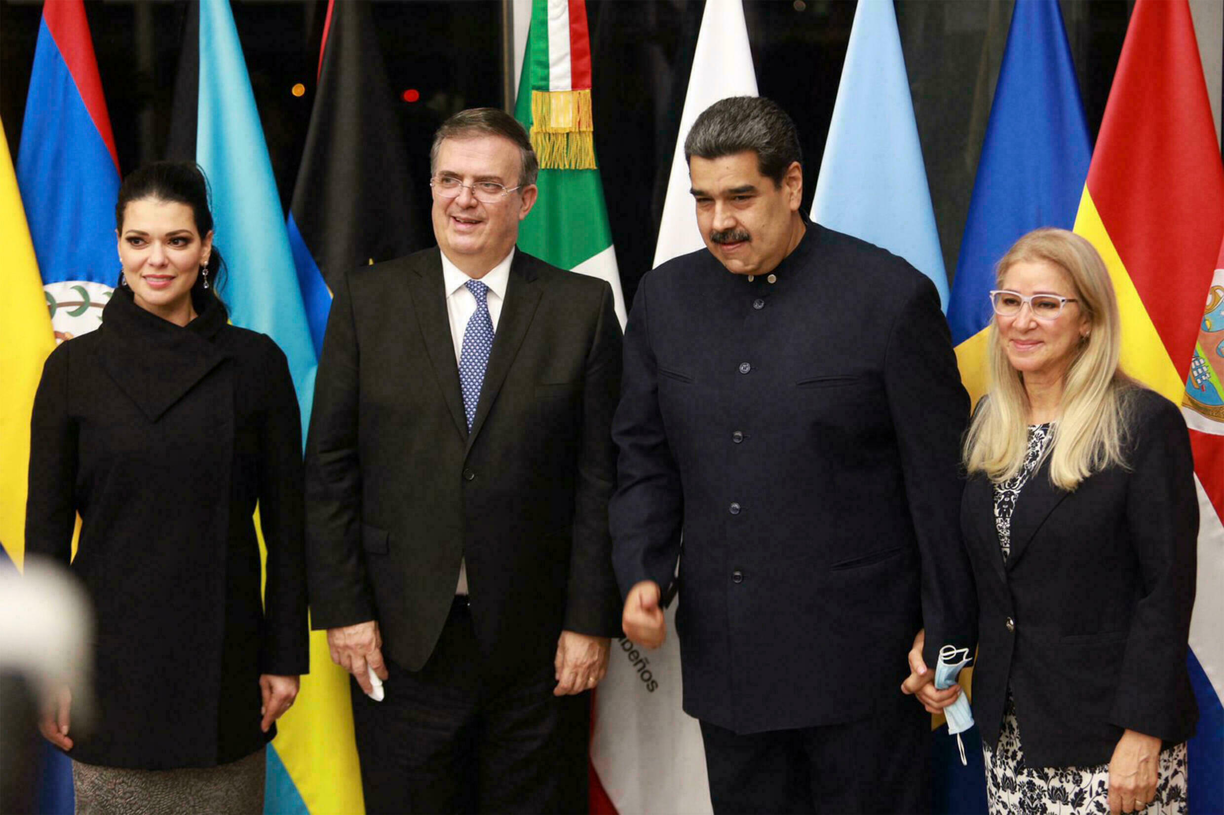Maduro in Mexico on first foreign trip since US accusations