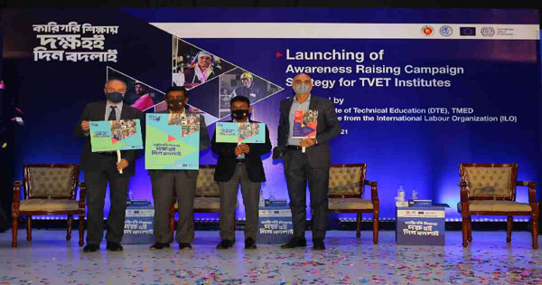 ILO helps develop campaign strategy for vocational education