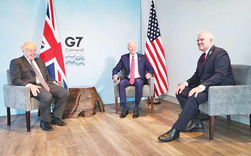 Boris bets on Biden…but beware of Beijing