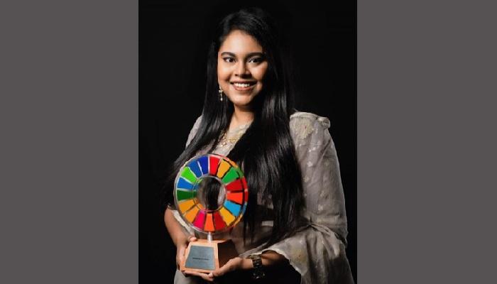 Bangladesh's Faizah gets 'Global Goals Changemaker Award'